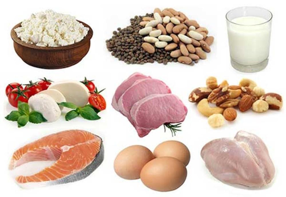 Retinol có nhiều trong thịt, cá, trứng và các sản phẩm từ sữa.