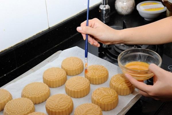 Cách làm bánh trung thu đậu xanh